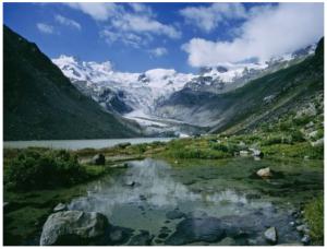 Site Ramsar de Vadret da Roseg, en Suisse